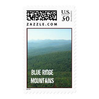 Blue Ridge Mountains Postage Stamp