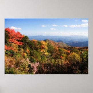 Blue Ridge Mountains Print