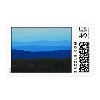 Blue Ridge Mountains Stamp