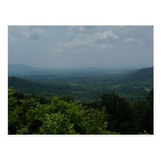 Blue Ridge Mountains Tarjetas Postales