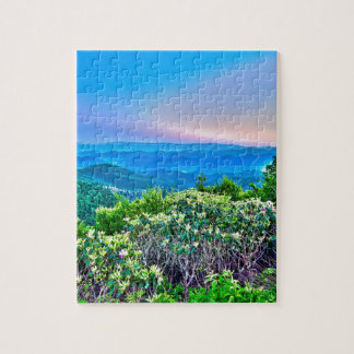 blue ridge mountains valley jigsaw puzzle