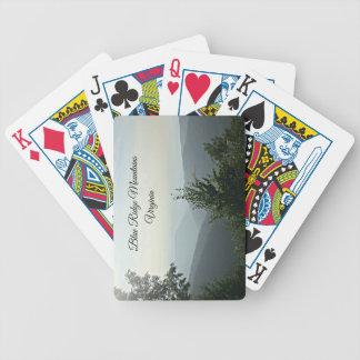 Blue Ridge Mountains, Virginia Bicycle Playing Cards