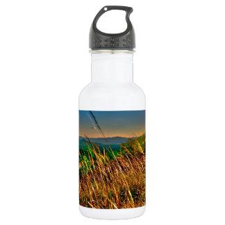 blue ridge mountains water bottle