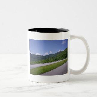 Blue Ridge Overview Pulloff Coffee Mug