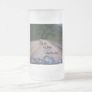 Blue Ridge Parkway2 Frosted Glass Beer Mug