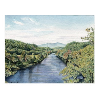 Blue Ridge Parkway at the James River Postcard