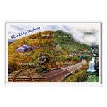 Blue Ridge Parkway Collage Art Photo