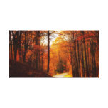 Blue Ridge Parkway Fall Gallery Wrapped Canvas