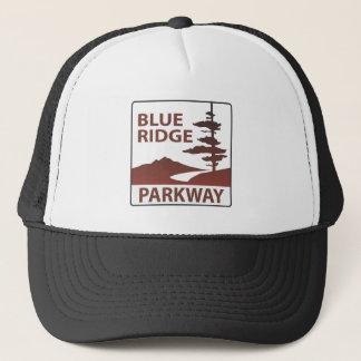 Blue Ridge Parkway Highway Road Trip Trucker Hat