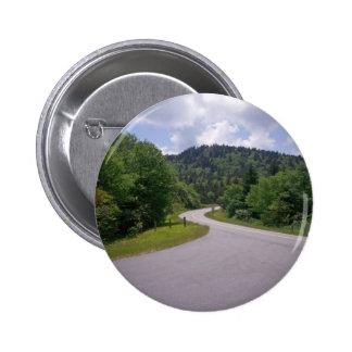 Blue Ridge Parkway Motorcycle Pinback Buttons