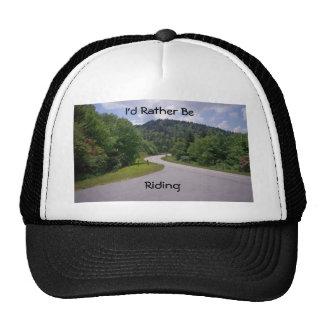 Blue Ridge Parkway Motorcycle Mesh Hat