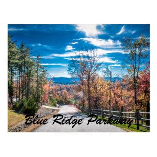 Blue Ridge Parkway NC Post Card