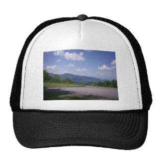 Blue Ridge Parkway Overlook View Mesh Hats