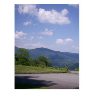 Blue Ridge Parkway Overlook View Postcard