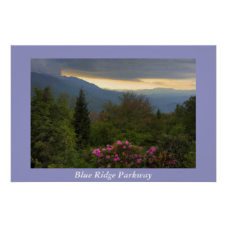 Blue Ridge Parkway Photograph Poster