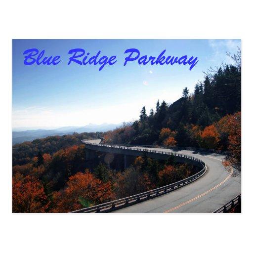 blue ridge parkway postcards