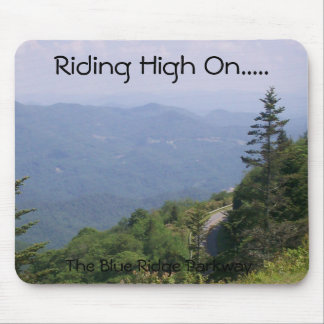 Blue Ridge Parkway Road with Mountains Mouse Pad