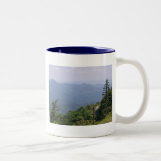Blue Ridge Parkway Road with Mountains Mugs