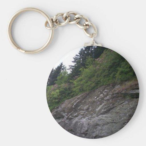 Blue Ridge Parkway Rocks Key Chains