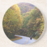 "Blue Ridge Parkway Sandstone Coaster<br><div class=""desc"">Photo by Dixie Harrison</div>"