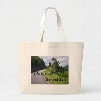 Blue Ridge Parkway Steep Tote Bags
