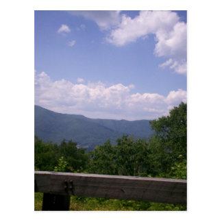 Blue Ridge Parkway View Postcard