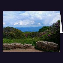 Blue Ridge Spring Card