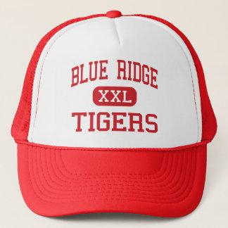 Blue Ridge - Tigers - Middle - Greer Trucker Hat