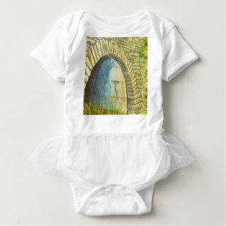 Blue Ridge Tunnel Baby Bodysuit