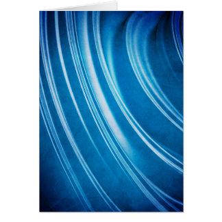 Blue Ridges Fractal Card
