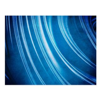 Blue Ridges Fractal Postcard