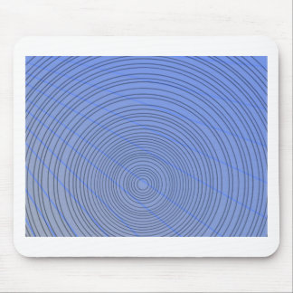 Blue Ring Mouse Pad