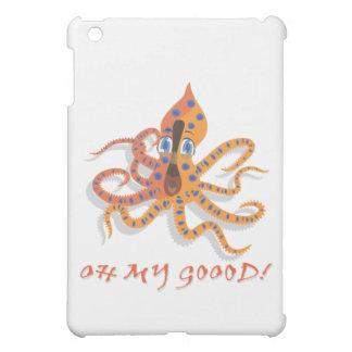 Blue Ring Octopus iPad Mini Cover
