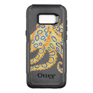 Blue Ring Octopus OtterBox Commuter Samsung Galaxy S8+ Case