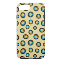 Blue Ringed Octopus Pattern iPhone 7 Case
