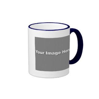 Blue Ringer Mug Template
