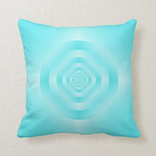 Blue Rings Pillows
