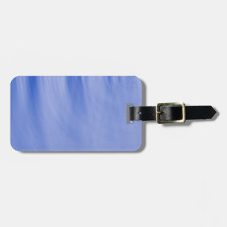BLUE RIPPLE 164 PAINTED WATER BLUES PHOTOGRAPHY TE LUGGAGE TAG