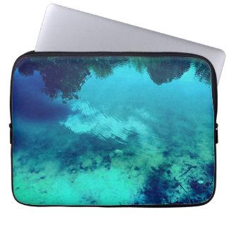 Blue Ripple Laptop Sleeve
