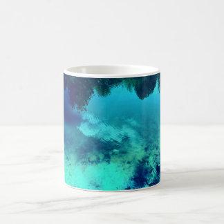 Blue Ripple Mug