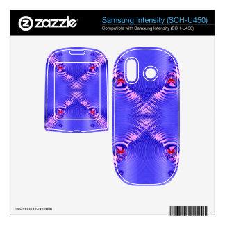 blue ripple samsung intensity II skin