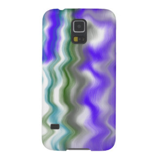 blue ripple wave galaxy s5 cover