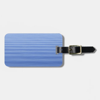 Blue Rippled Water Luggage Tag