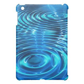 Blue Ripples iPad Case