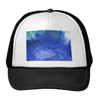 Blue Ripples Trucker Hat