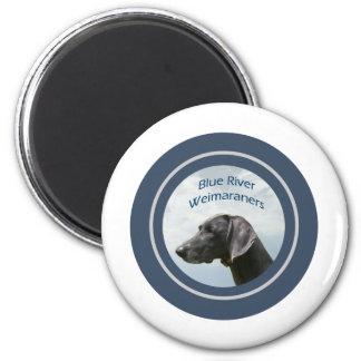 Blue River Weims logo Magnet