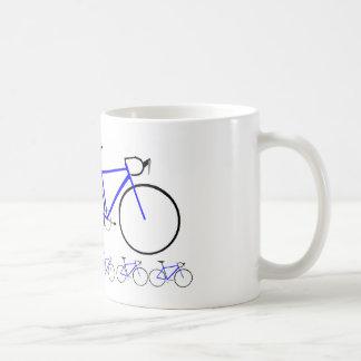 Blue Road Bike Coffee Mug