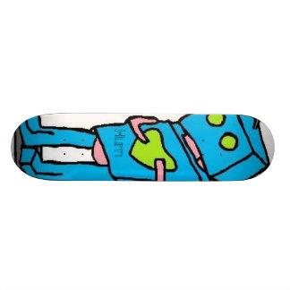 Blue Robo Board Skateboard Deck