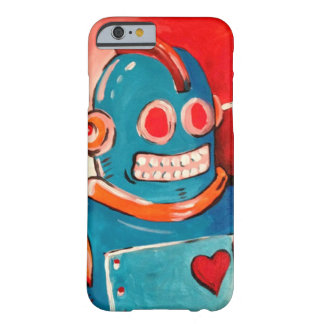 Blue Robot Barely There iPhone 6 Case