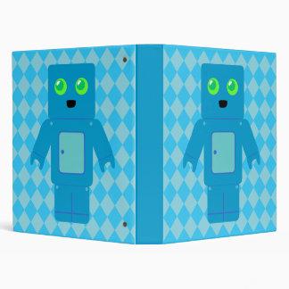Blue Robot Binder